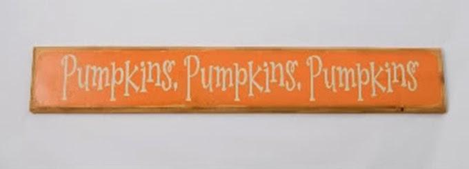 Pumkpins Pumpkins Pumpkins
