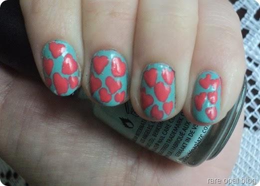 aqua-and-coral-hearts