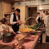 Les cuisines en sous sol