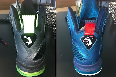 nike lebron 9 gr black green dunkman 1 03 Upcoming LeBron 9 Ofiicial Release Dates: Cool Grey, Mango, Dunkman, Griffey