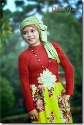model hijab terbrau liana3