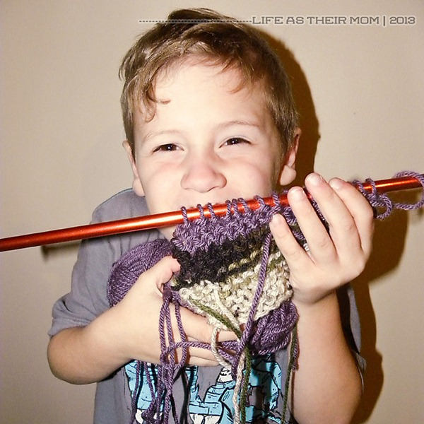my son knits 2 - life as their mom