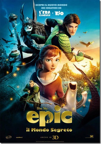 Epic il mondo segreto – Piccole Montagne Verdi