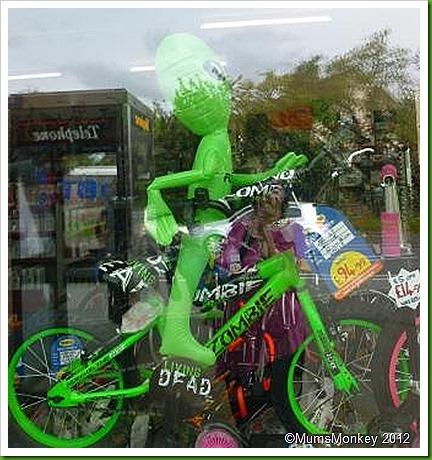 Living dead Zombie Bike