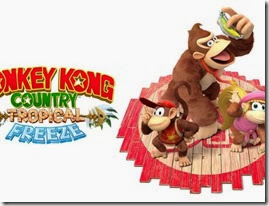 Donkey Kong Country Tropical Freeze, Diddy, Kong e Dixie