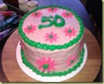 50 cake