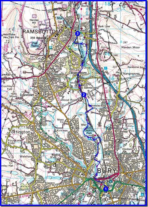 Our route - 10 km, 180 metres ascent, around 2 hours