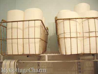 antique wire baskets