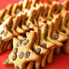 Chocolate Chip Ginger Star Biscuits