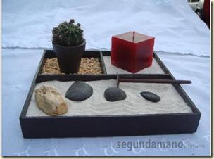 Jard n zen en miniatura dise o y decoracion de jardines for Jardin zen miniatura