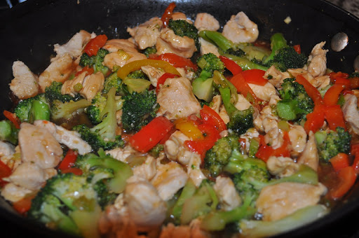 Sweet and Sour Stir-Fry  Photo by: Samantha Kuvin