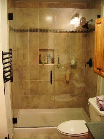 Bathroom remodel cost casual cottage for Finished bathroom ideas