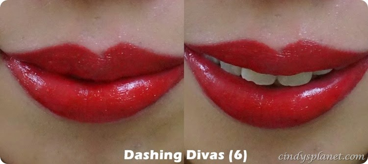 collection lip crayon Dashing Divas review
