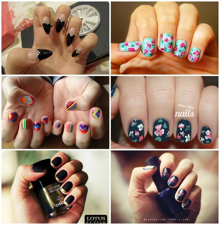 nails para se inspirar