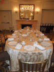 The regal Roswell dining room at the New York Palace Hotel provided a beautiful backdrop for our intimate get-together.