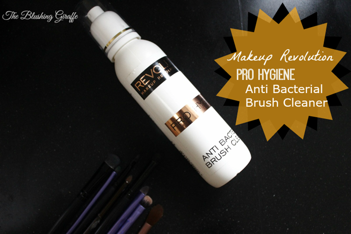 makeup revolution pro hygiene anti bacterial brush cleaner review