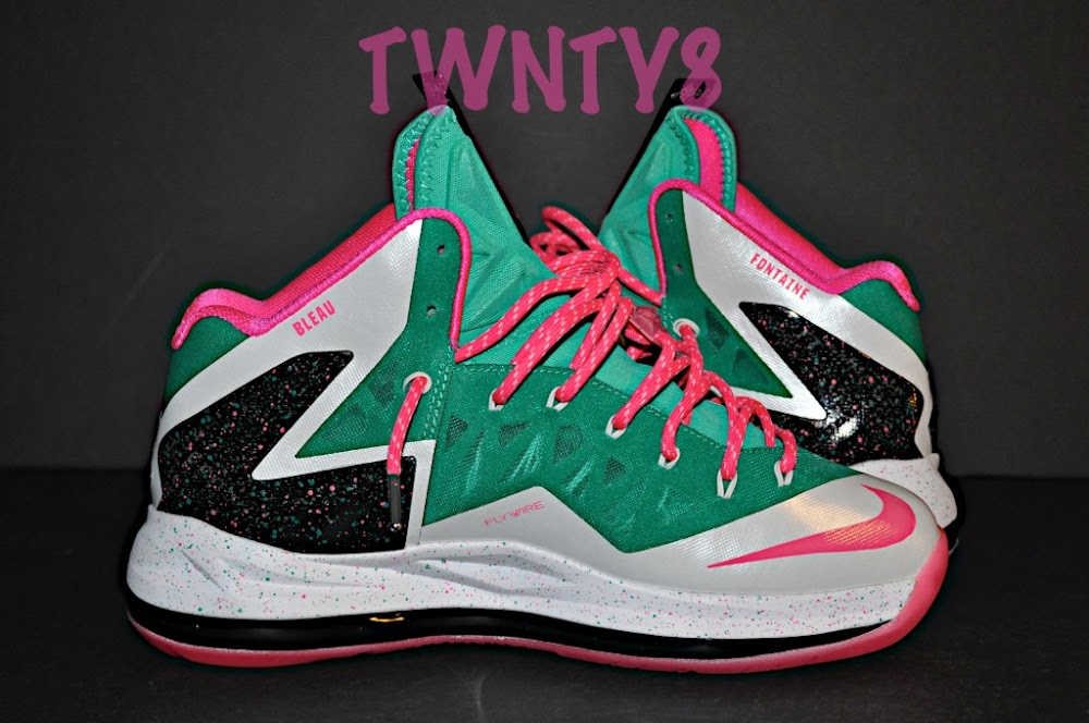 nike lebron x id quotfontaine bleauquot build by twnty8 nike