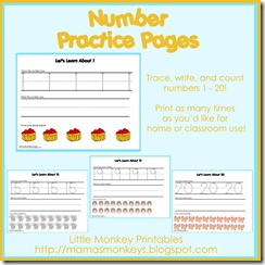 number page ad