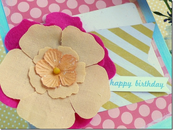 cafe creativo - Anna Drai - big shot sizzix - card - flower - summer (2)