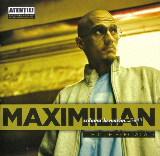 MAXIMILIAN - Volumul la Maxim...ilian (front)