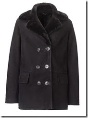 Jigsaw Sheepskin Car Coat