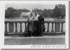 1955 Visit to Mexico City Debs and Willis Webster and Carlota Webster Guerrero