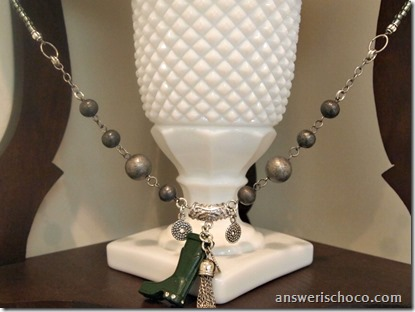 Wellington Boot Necklace
