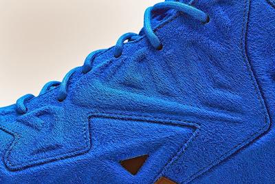 nike lebron 11 nsw sportswear ext blue suede 5 06 Nike LeBron XI EXT Blue Suede Drops on April 10th for $200