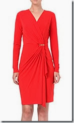 Michael Kors Wrap Effect Dress