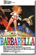 affiche Barbarella 1967