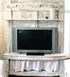 tv cabinet shabby story