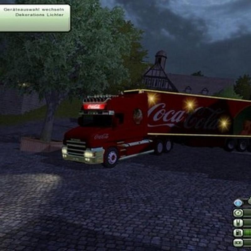 Farming simulator 2013 - Coca Cola Christmas V 2.1