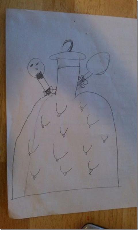 Desenhos bizarros de crianças (11)