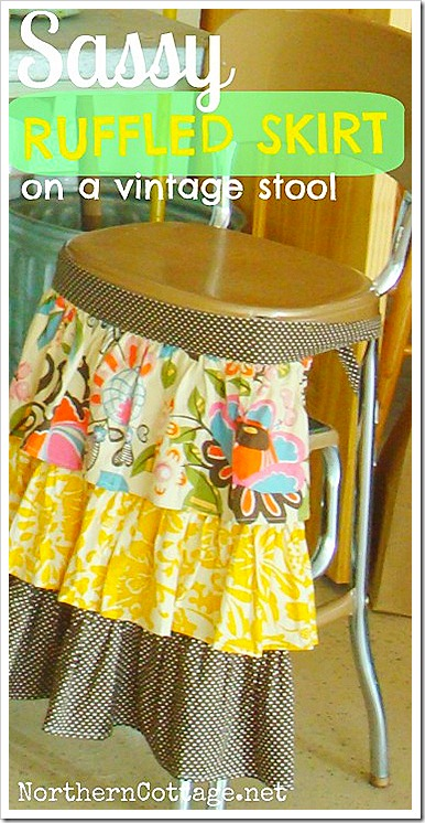 northern cottage potting table stool