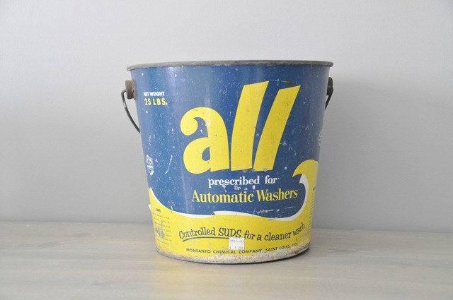 Vintage all bucket