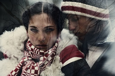 Dennis Klaffert + Geraldine Hassler by Ewa-Marie Rundquist for the Gant by Michael Bastian F/W 2011.