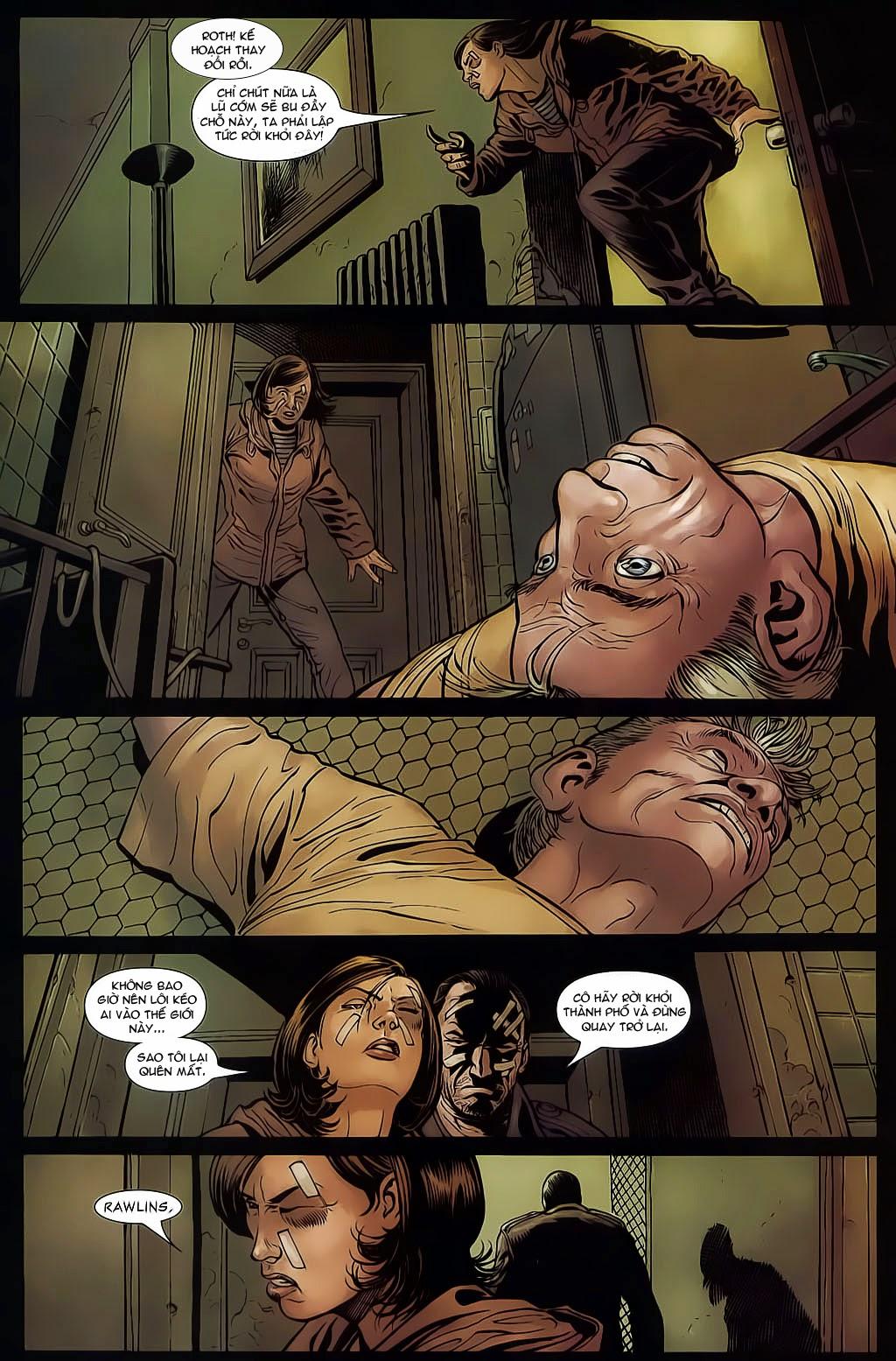 The Punisher: Trên là Dưới & Trắng là Đen chap 6 - Trang 20