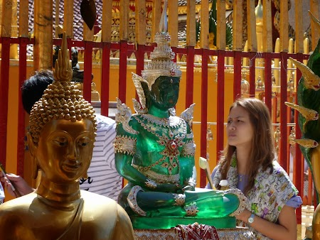 Buda verde de smarald