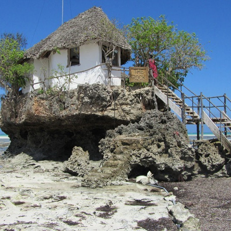 Rock Restaurant of Zanzibar