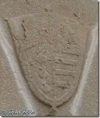 Escudo de los Ozta - Torre de Olcoz