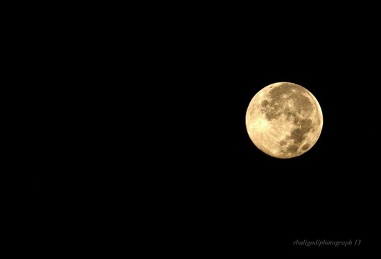 supermoon by roger baligod