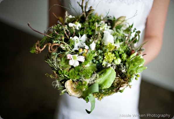 woodland-bridal-bouquet-Françoise-Weeks photo by nicole wicken