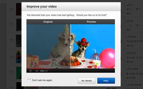 mejoras en youtube
