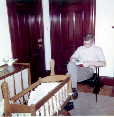 Clayn rocking the cradle, 1962 1