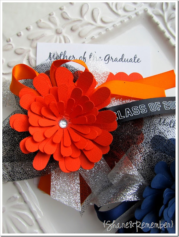 mother of the graduate corsage