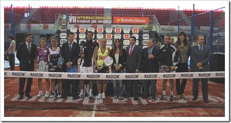 Los VII Internacionales Ciudad de Madrid Estrella Damm se visten de largo con la presentación oficial