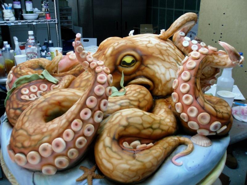 Octopus cake