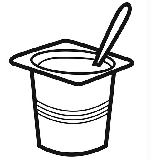 Free Coloring Pages Of Yoghurt Yogurt Coloring Page
