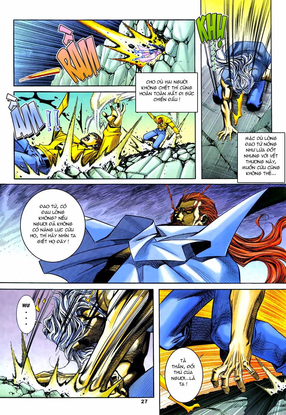 X Bạo Tộc chap 67 - Trang 27