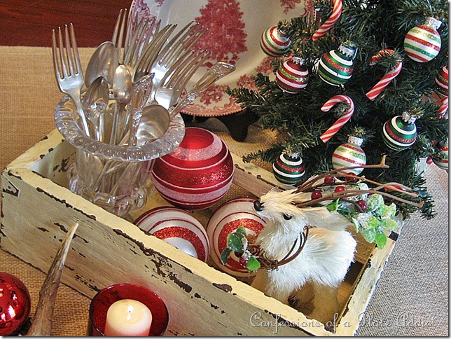 CONFESSIONS OF A PLATE ADDICT My Rustic Christmas Centerpiece